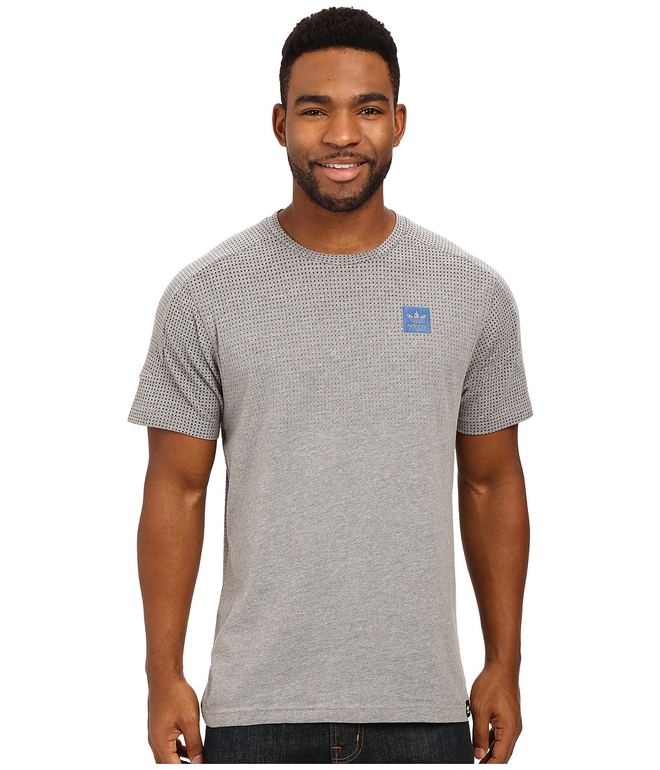 adidas Skateboarding - ADV Aeroknit Tee (Core Heather) Men's T Shirt