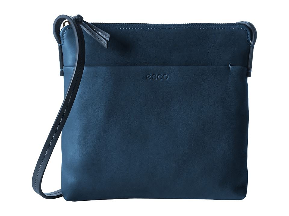 ECCO - Handa Crossbody (Poseidon) Cross Body Handbags