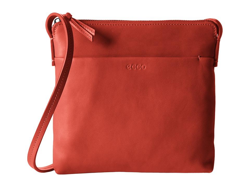 ECCO - Handa Crossbody (Tomato Red) Cross Body Handbags