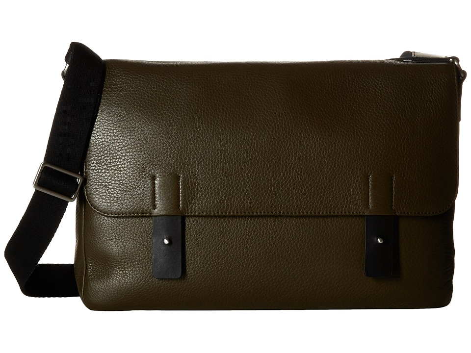 ECCO - Ely Messenger (Grape Leaf) Messenger Bags