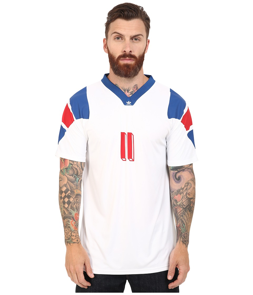 adidas Skateboarding - Copa France Jersey (White) Men's T Shirt