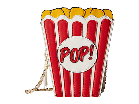 Gabriella Rocha - Movie Lovers Popcorn Purse (Red/Yellow) Wallet Handbags