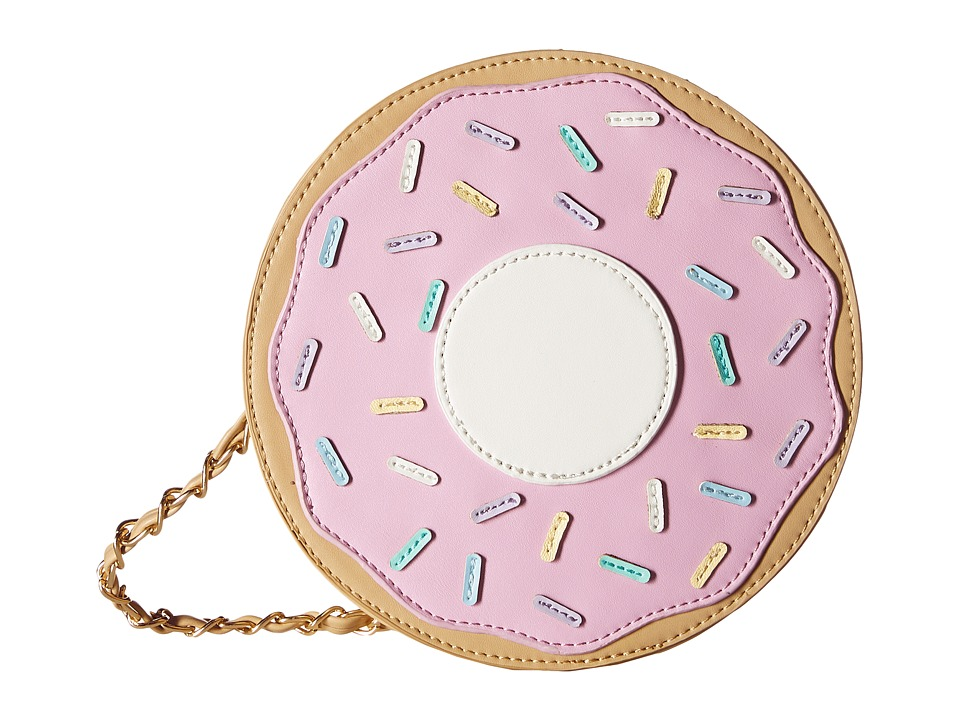 Gabriella Rocha - Sprinkled Donut Purse (Pink/White) Wallet Handbags