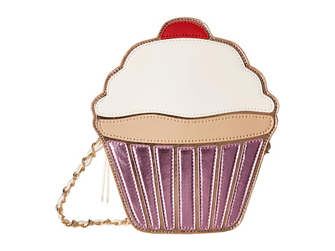 Gabriella Rocha - Dessert Lovers Cupcake Purse (Pink/White) Wallet Handbags