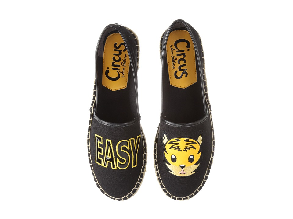 Circus by Sam Edelman - Leni 12 (Black/Easy Tiger) Women's Flat Shoes