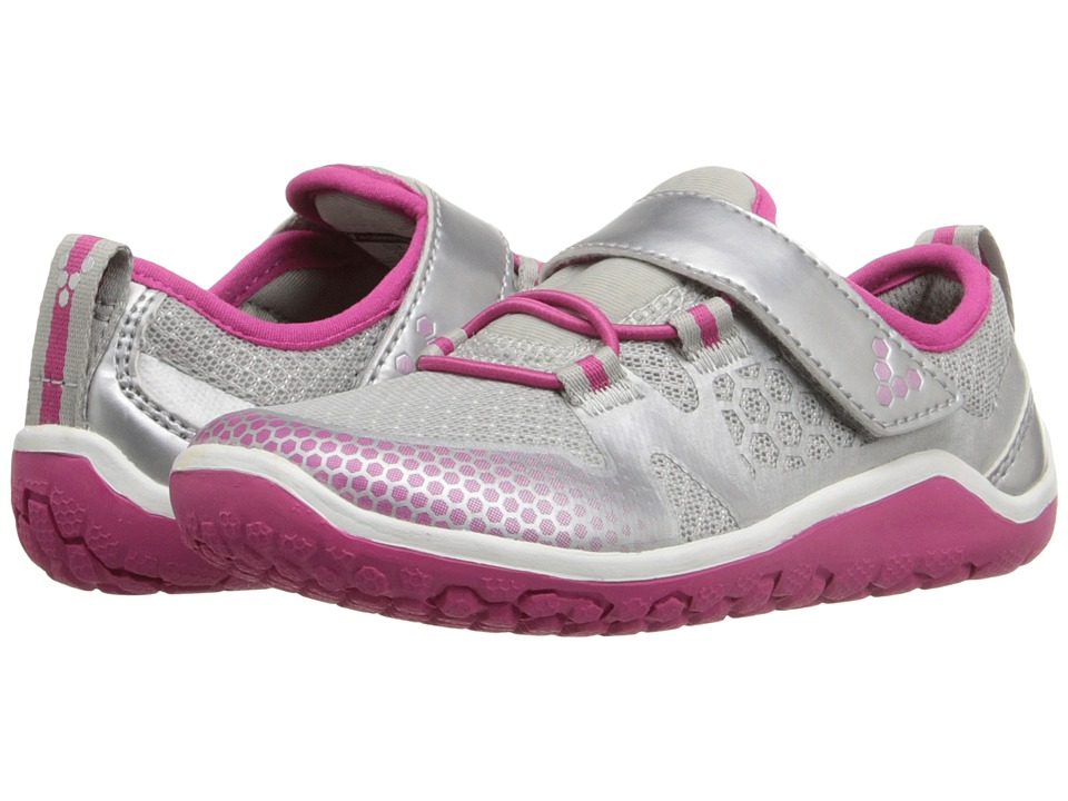 Vivobarefoot Kids - Trail Freak (Toddler/Little Kid) (Pink/Silver) Girls Shoes