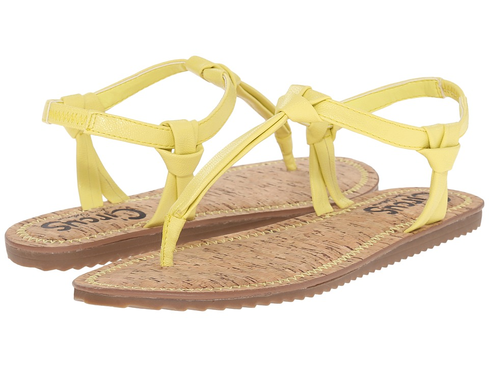 Circus by Sam Edelman - Shaw (Acid Yellow) Women's Sandals