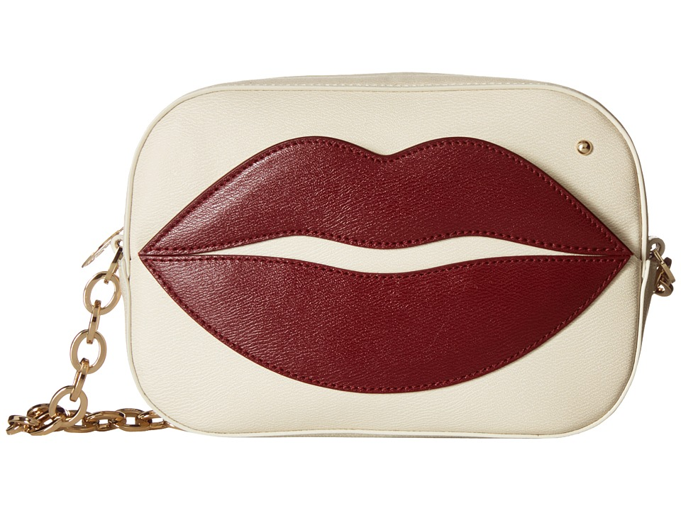 Charlotte Olympia - Pouty Shoulder Purse (Off-White) Wallet Handbags