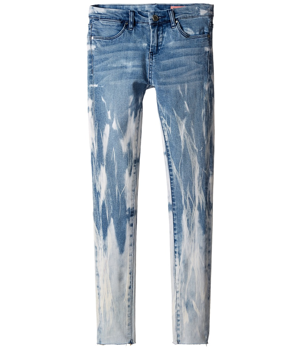 Blank NYC Kids - Denim/Blue Detail (Splattered) Jeans in Life Coach (Big Kids) (Blue/White) Girl's Jeans