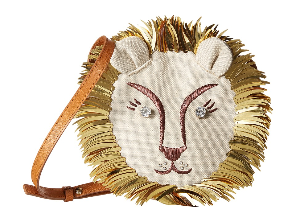 Charlotte Olympia - Leo (Natural/Gold) Bags