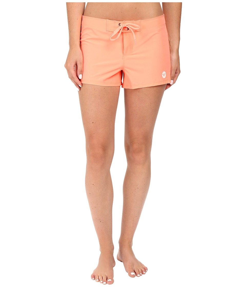 Roxy - Essentials To Dye For 2 Boardshorts (Candied Orange) Women's Swimwear