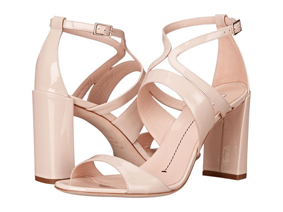 Furla - Carmen Sandal 85mm (Magnolia/Magnolia Vernice Puff/Suede) Women's Sandals