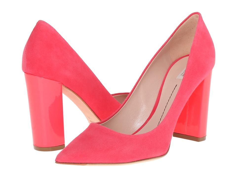 Furla - Iride (Fuxia/Rodonite Fluo Suede/Vernice Fluo) High Heels