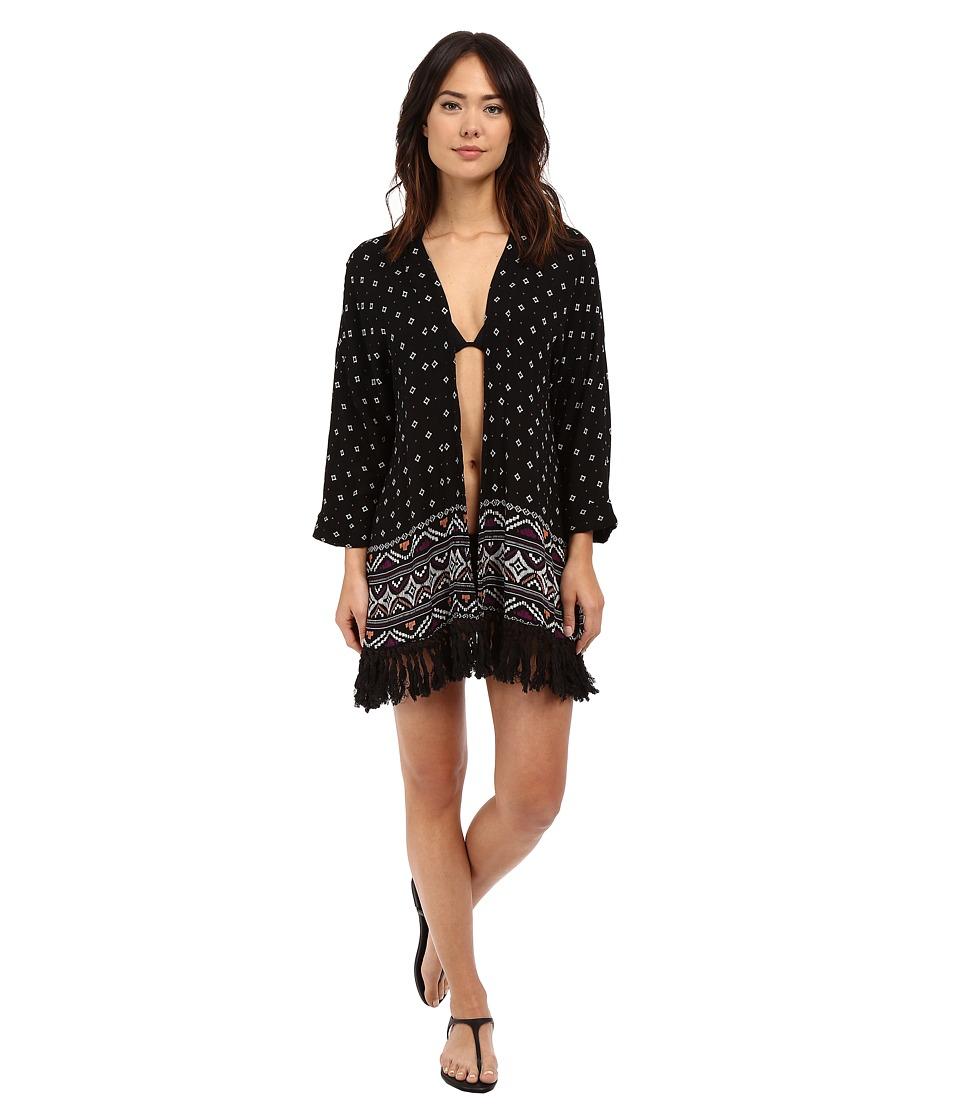 Roxy - Dreamin' Beach Kimono Cover-Up (Dreamin Beach Kimono ID) Women's Swimwear