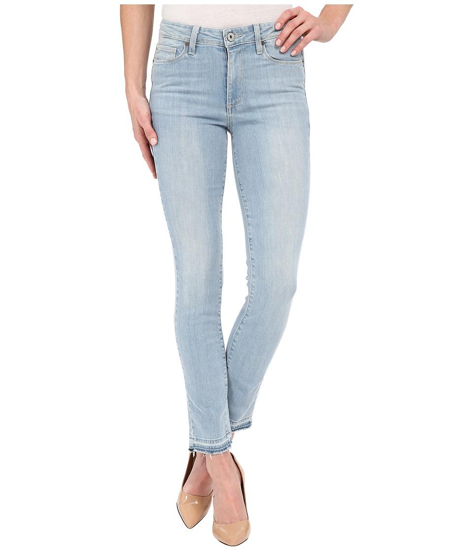 Paige - Hoxton Ankle Peg w/ Undone Hem in Samira (Samira) Women's Jeans