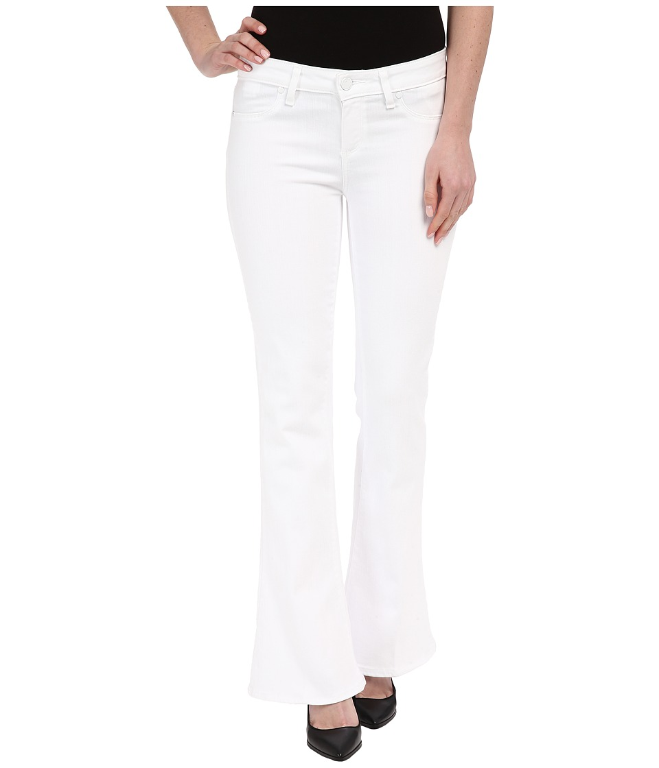 Paige - Lou Lou Flare in Ultra White (Ultra White) Women's Jeans
