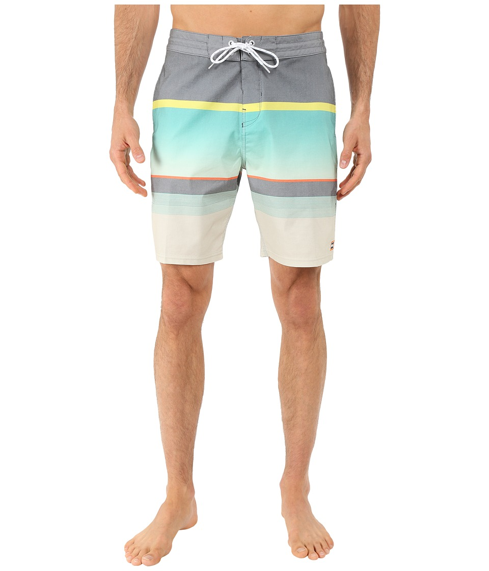 Billabong - Spinner Lo Tides 19 Boardshorts (Mint) Men's Swimwear