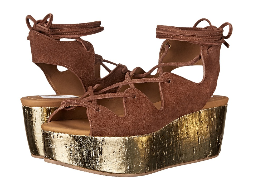 See by Chloe - SB24200 (Cola) Women's Wedge Shoes