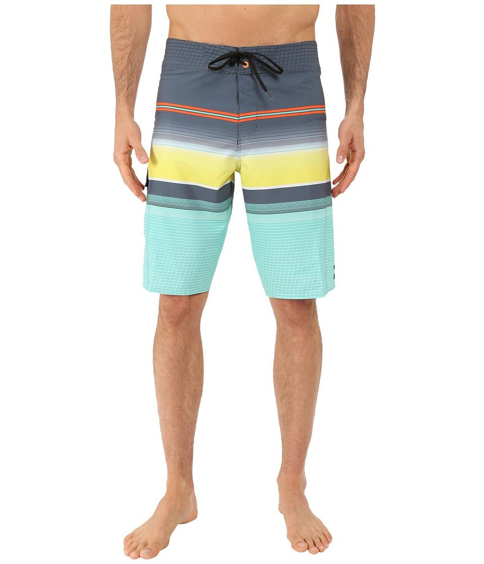 Billabong - All Day Stripe 21 Boardshorts (Mint) Men's Swimwear
