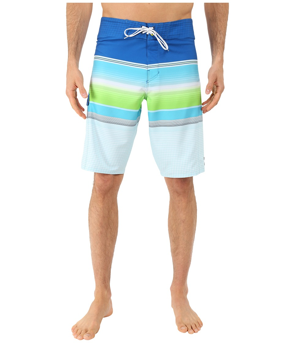 Billabong - All Day Stripe 21 Boardshorts (Water) Men's Swimwear