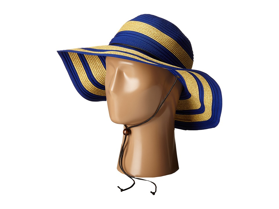 San Diego Hat Company - RBL4783 4.5 Sun Brim Hat with Adjustable Chin Cord (Royal) Caps
