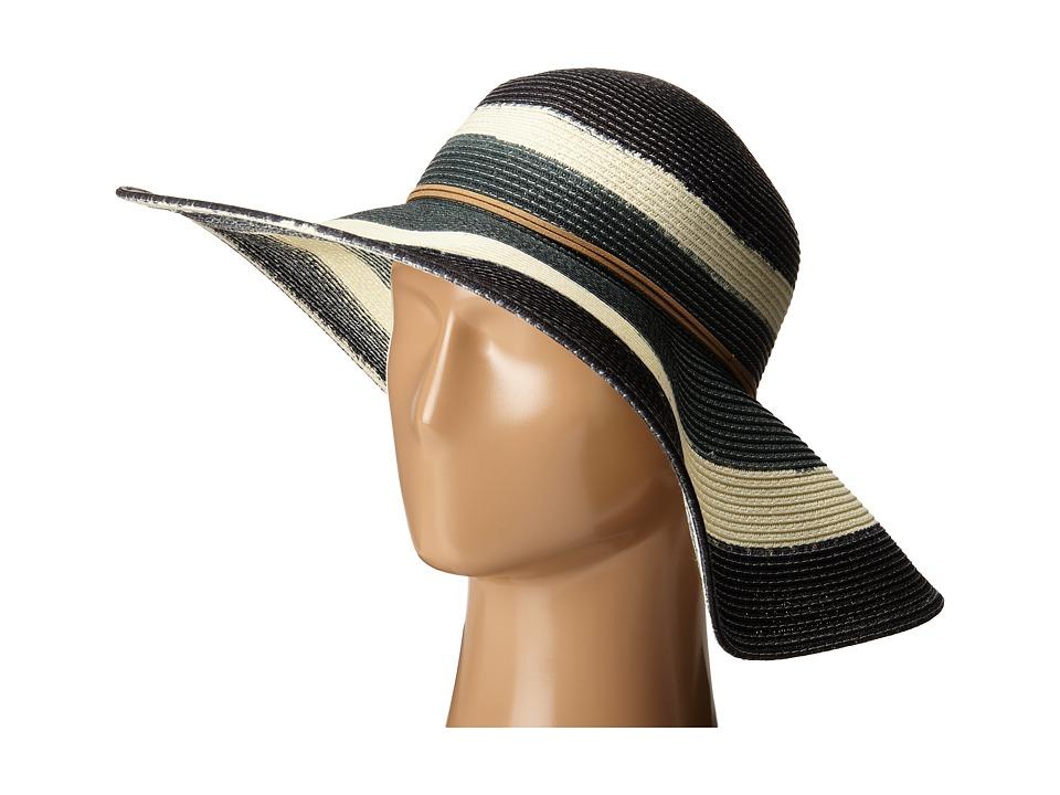 San Diego Hat Company - PBL3040 Dip Dye Sun Brim Hat (Black) Caps