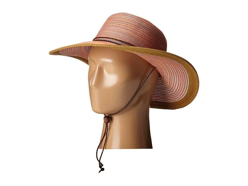 San Diego Hat Company - MXM1022 4 Inch Brim Sun Hat with Adjustable Chin Cord (Rust) Caps