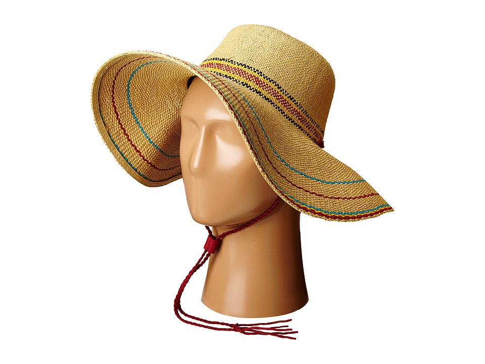 San Diego Hat Company - PBL3064 Fine Weave Round Crown Sun Hat (Natural) Caps