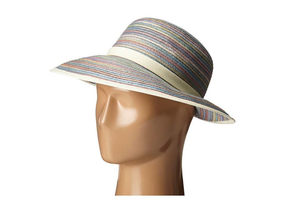 San Diego Hat Company - MXM1020 4 Inch Brim Sun Hat with Face Saver Sun Brim (Mixed Pastel) Caps