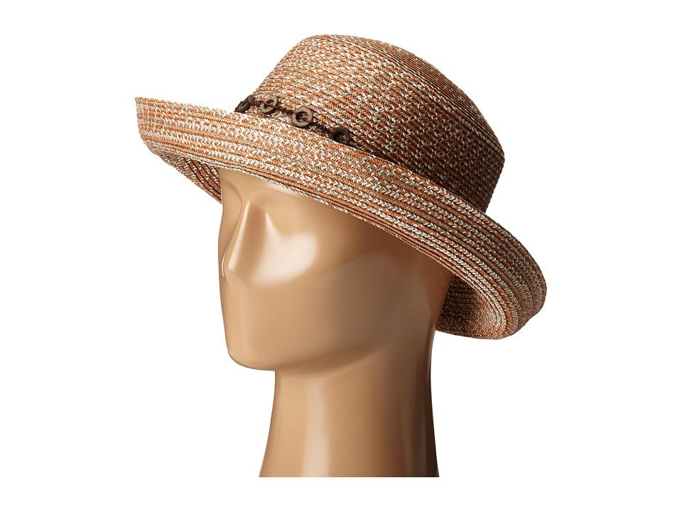 San Diego Hat Company - UBM4451 3 Inch Brim Kettle Brim Sun Hat (Rust) Caps