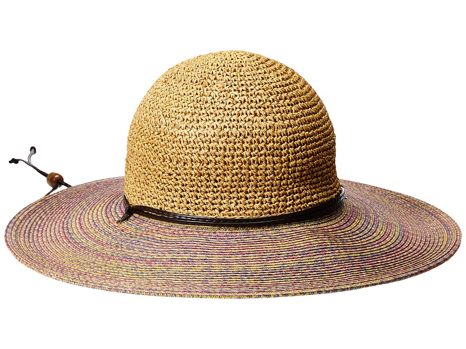 San Diego Hat Company - UBL6483 4 Inch Brim Sun Hat with Adjustable Chin Cord (Blue) Caps