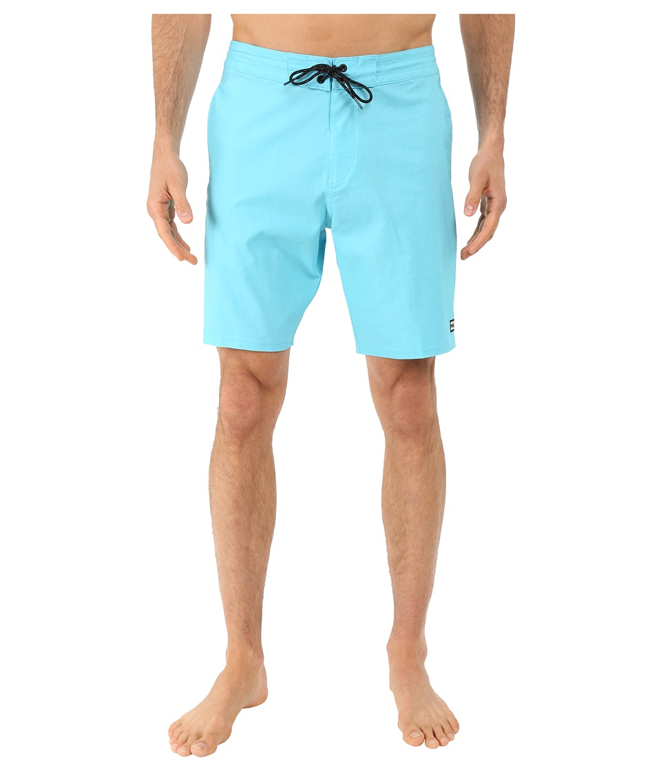 Billabong - All Day Lo Tides 19 Boardshorts (Water) Men's Swimwear