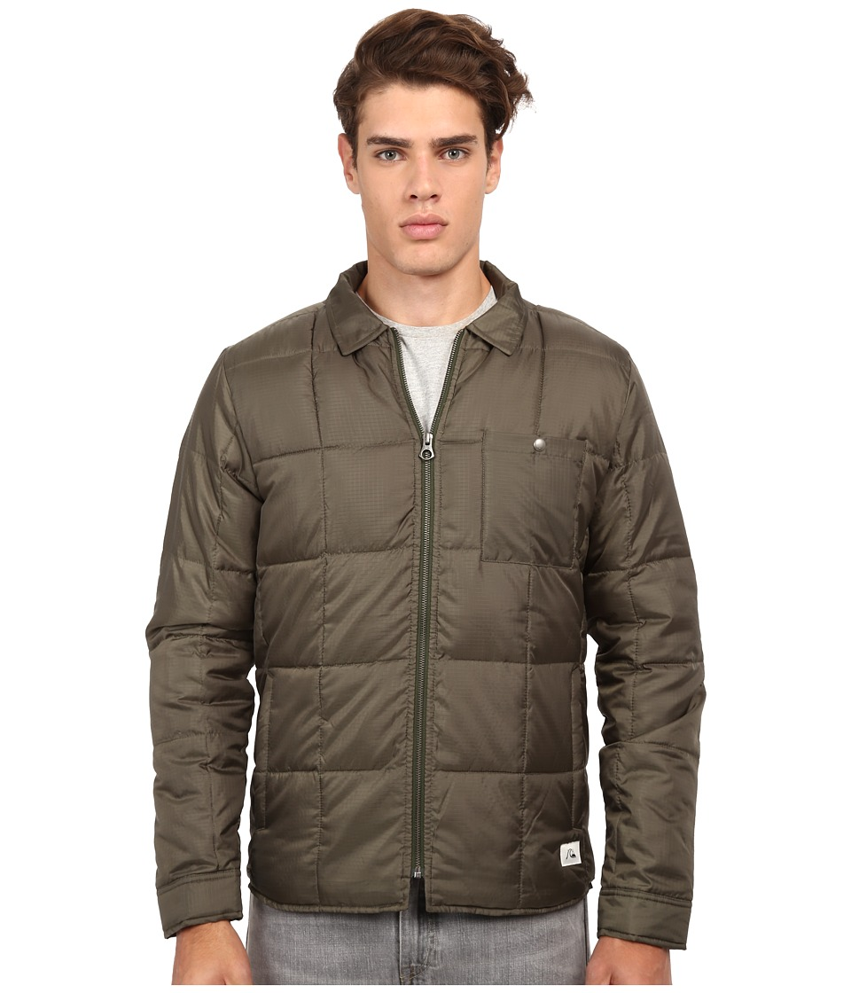 Quiksilver - Bomber Overshirt (Forest Night) Men's Coat