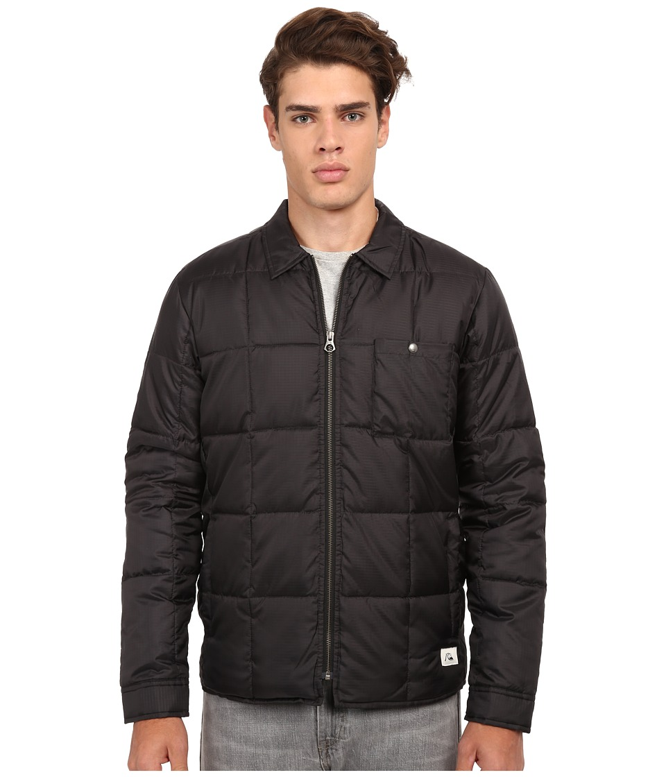 Quiksilver - Bomber Overshirt (Anthracite) Men's Coat