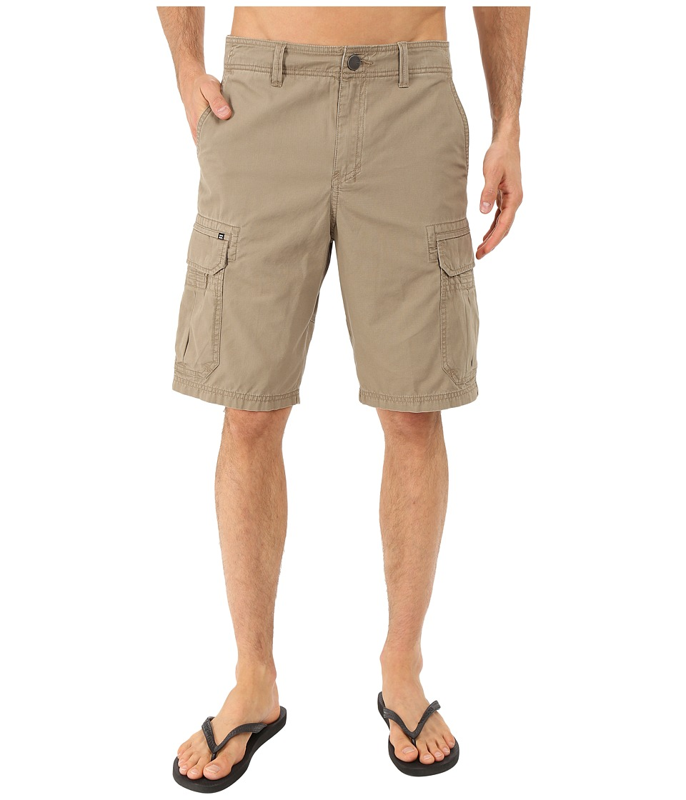 Billabong - Scheme Cargo Walkshorts (Khaki) Men's Shorts