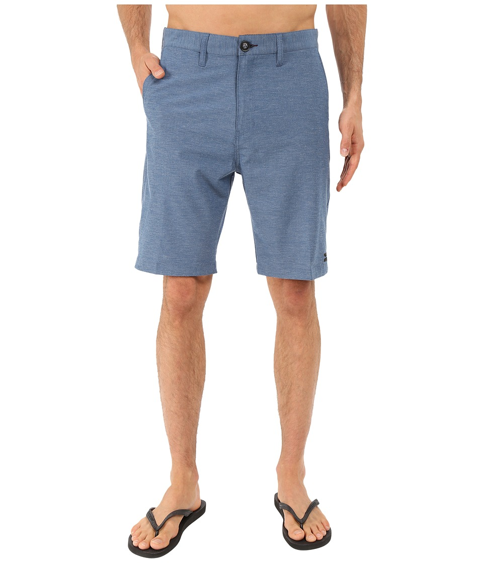 Billabong Crossfire X Hybrid Shorts (Dark Royal) Men