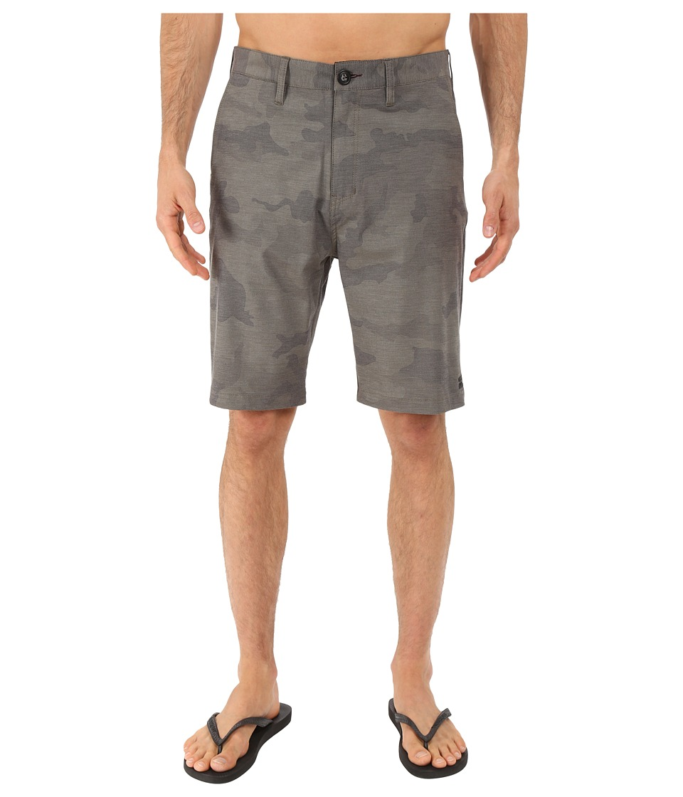 Billabong - Crossfire X Hybrid Shorts (Military Camo) Men's Shorts