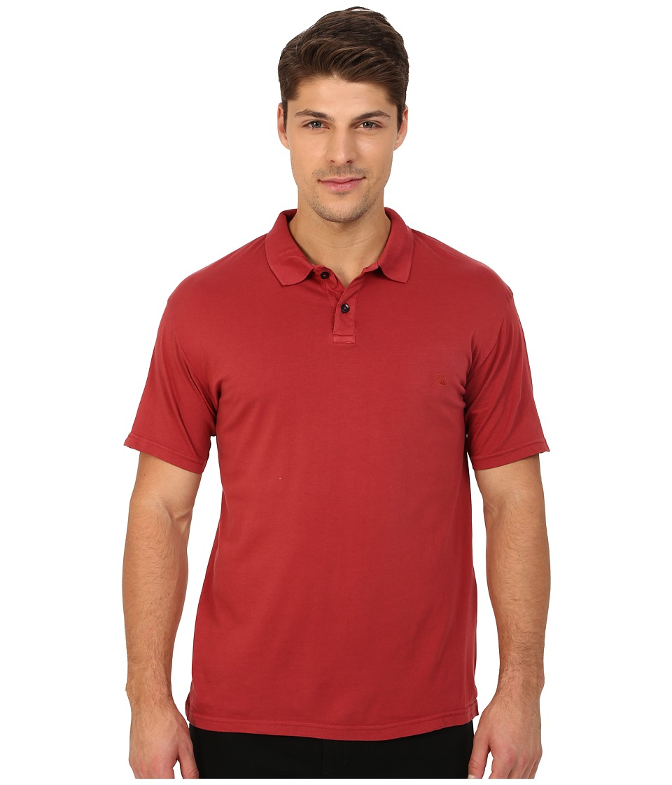 Quiksilver - Life Outside Short Sleeve (Rosewood) Men