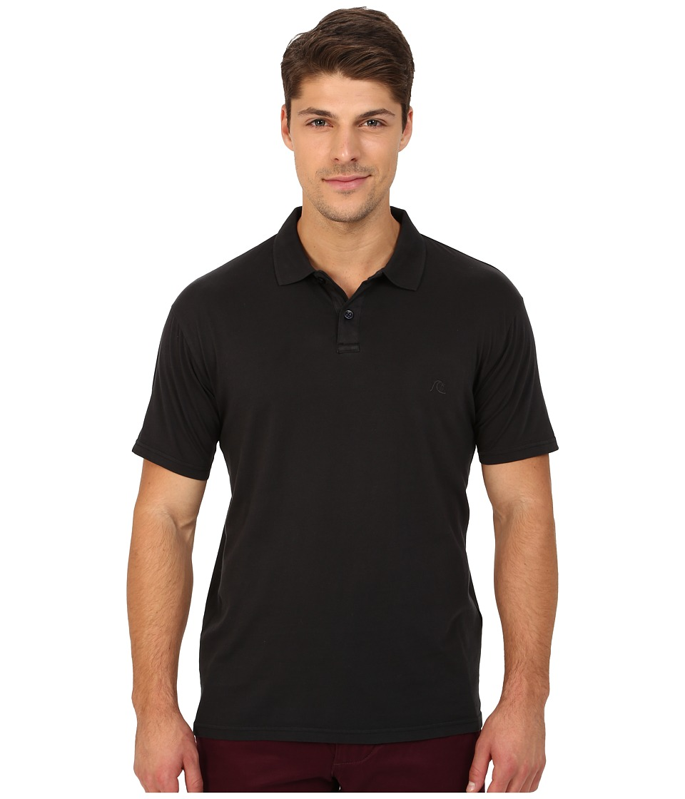 Quiksilver - Life Outside Short Sleeve (Anthracite) Men's Short Sleeve Knit