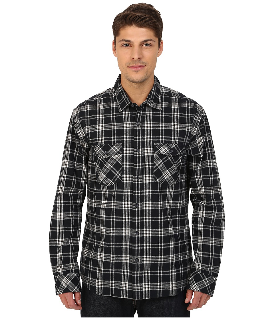 Quiksilver - Everyday Flannel Long Sleeve (Everyday Flannel Anthracite) Men's Clothing