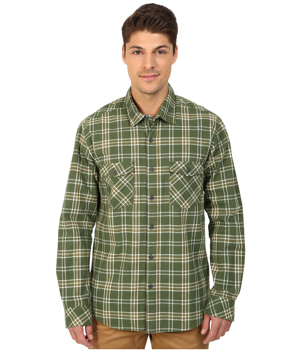 Quiksilver - Everyday Flannel Long Sleeve (Everyday Flannel Bronze Green) Men's Clothing