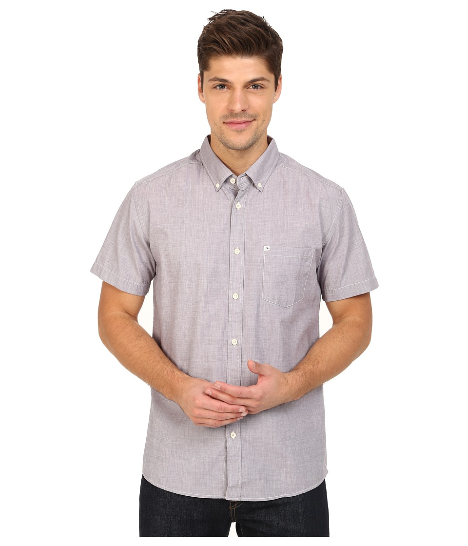 Quiksilver - Wilsden Perennial Short Sleeve (Plum Perfect) Men's Short Sleeve Button Up