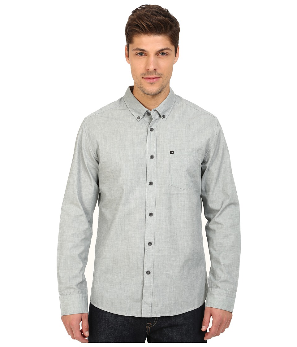 Quiksilver - Wilsden Perenial Long Sleeve (Green Gables) Men's Long Sleeve Button Up