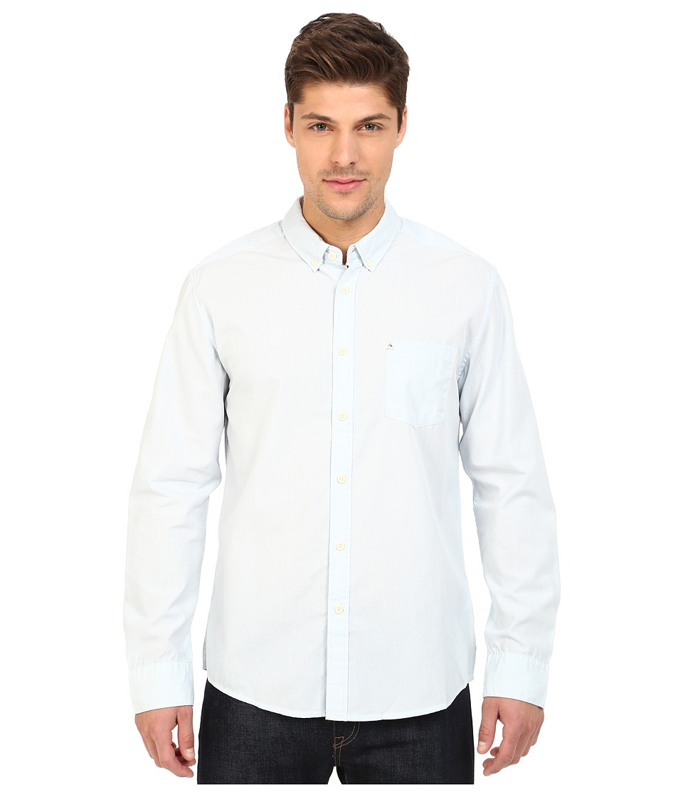 Quiksilver - Wilsden Perenial Long Sleeve (Angel Falls) Men's Long Sleeve Button Up