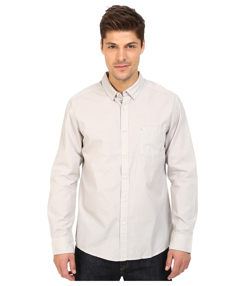 Quiksilver - Wilsden Perenial Long Sleeve (Steeple Gray) Men's Long Sleeve Button Up