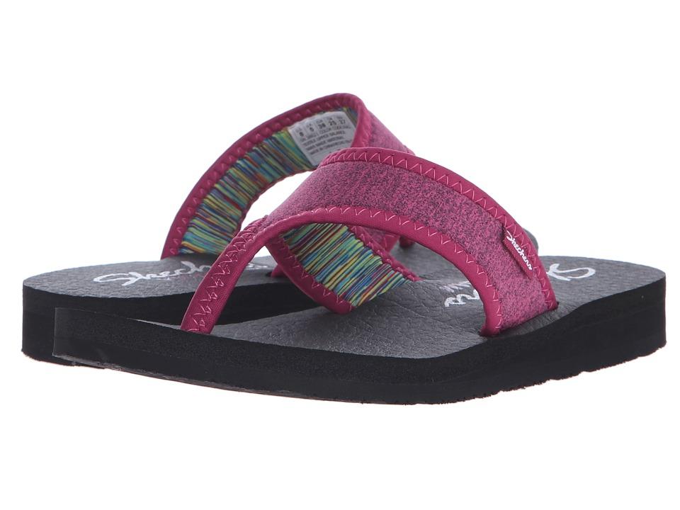 SKECHERS - Meditation - Zen Child (Raspberry) Women's Sandals