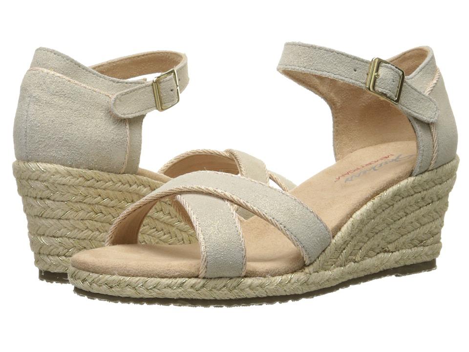 SKECHERS - Cali Monarchs (Gold) Women's Wedge Shoes