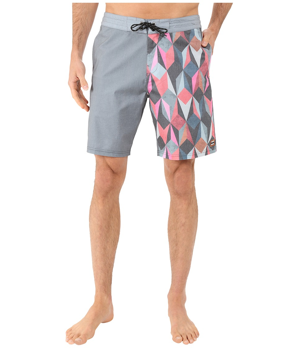 Billabong - Switch Lo Tides 19 Boardshorts (Black) Men's Swimwear