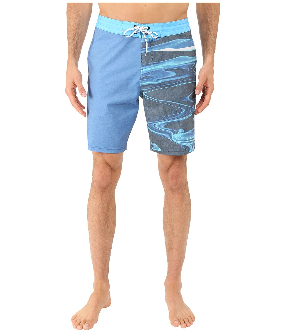 Billabong - Switch Lo Tides 19 Boardshorts (Blue) Men's Swimwear