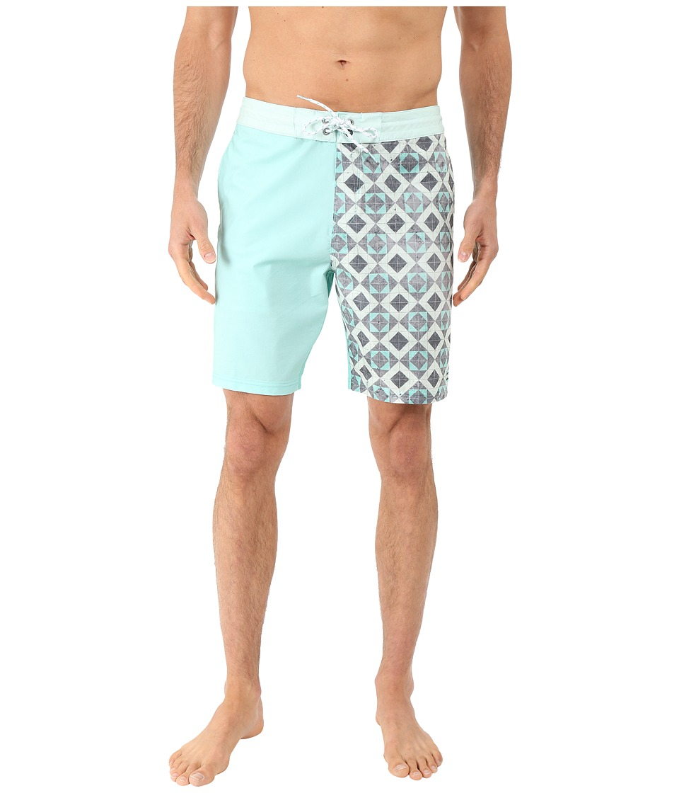 Billabong - Switch Lo Tides 19 Boardshorts (Mint) Men's Swimwear